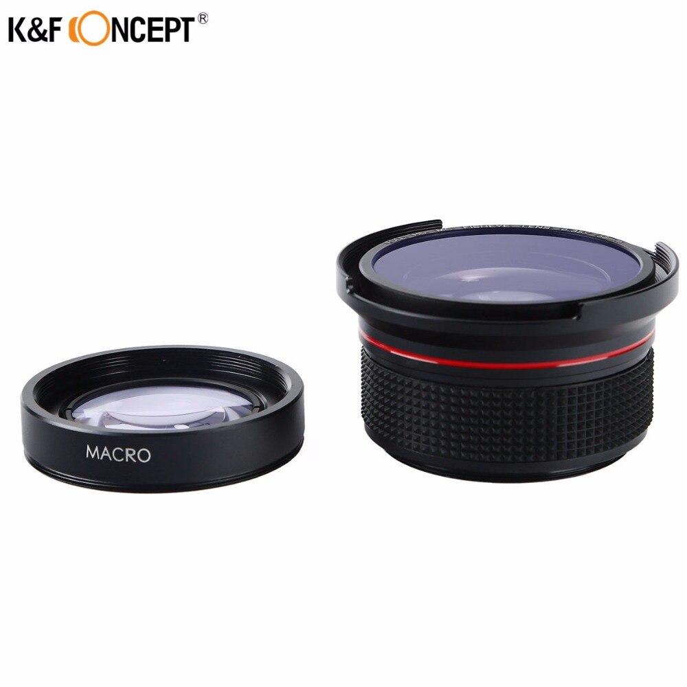 K&F CONCEPT 2in1 58mm 0.35x Fisheye լայն անկյուն - Տեսախցիկ և լուսանկար - Լուսանկար 3