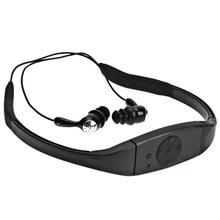 Sport music 4 GB memoria cabeza con Reproductores de MP3 radio FM Reproductor de MP3 bajo el agua Buceo nado surf deportes impermeable Estupendo IPX8