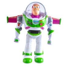 Toy Story 5 Anime figura juguetes de Buzz Lightyear luces voces hablar  inglés móvil conjunta con alas figuras de acción niños re. f45d4725766