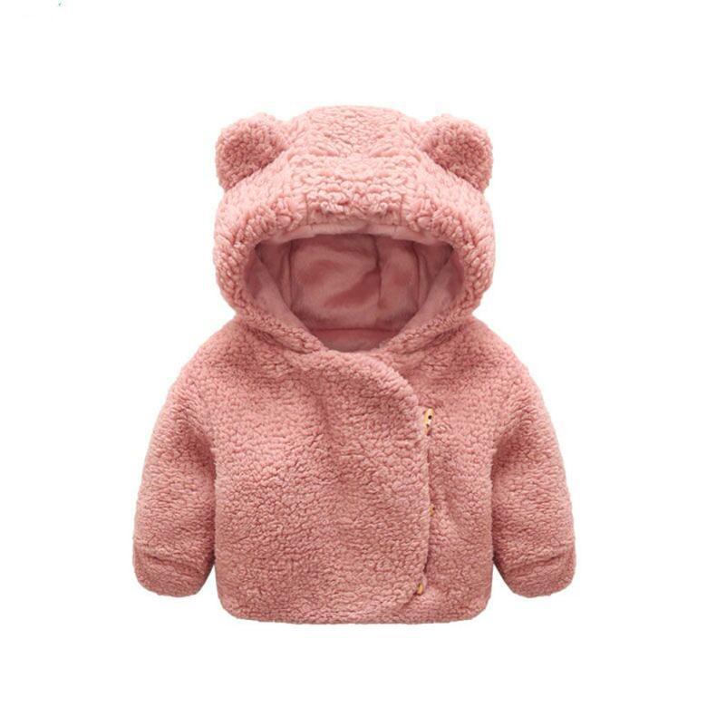 Bescheiden Baby, Kleinkind Mädchen Jungen Herbst Winter Mit Kapuze Mantel Mantel Jacke Dicke Warme Kleidung September 19