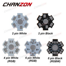 CHANZON – panneau de circuit imprimé LED en aluminium, 1W 3W 5 W, plaque de Base, dissipateur de chaleur, Kit étoile 20mm, dissipateur thermique de refroidissement 20mm pour 1 3 5 W