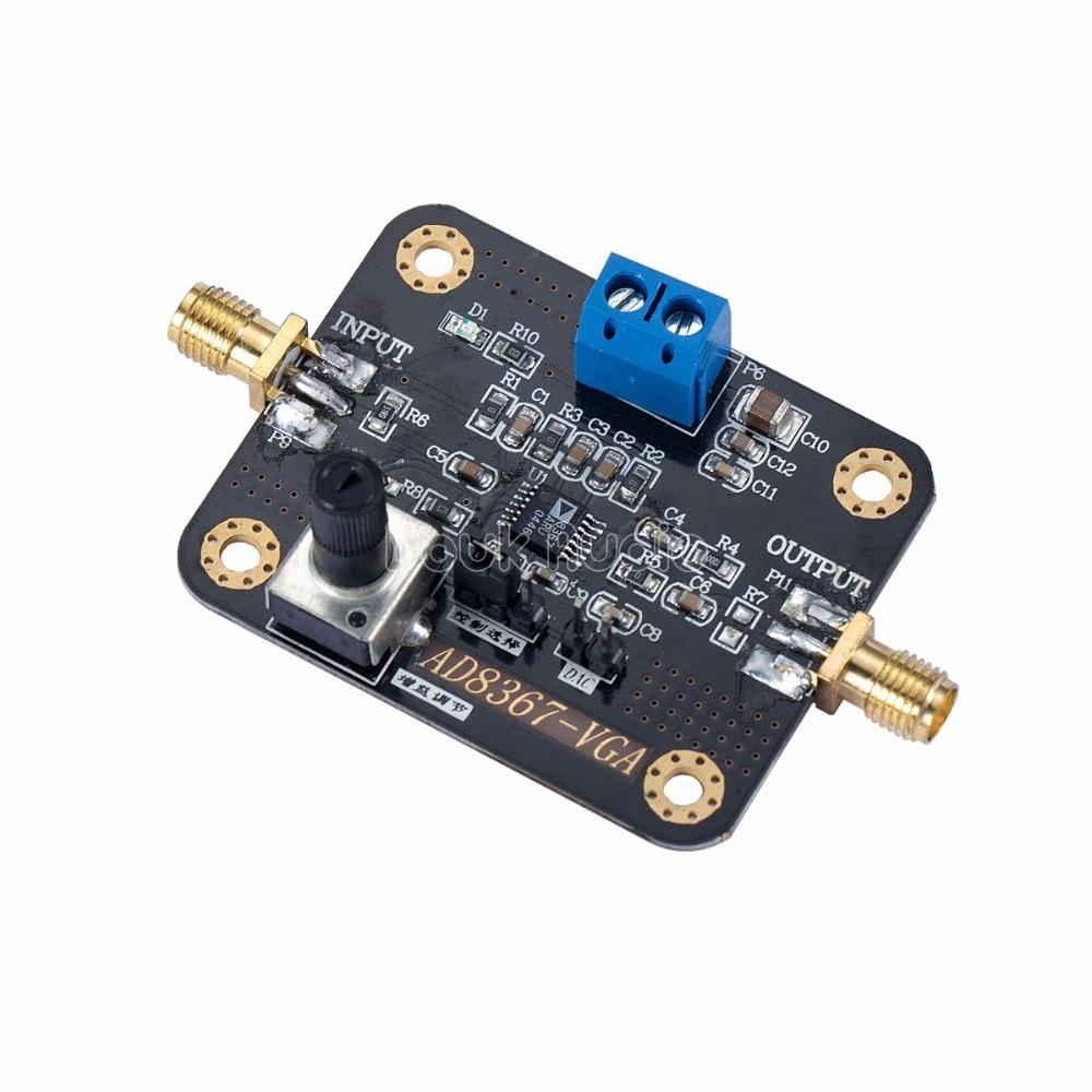 AD8367 1-500MHz RF Broadband Signal Amplifier Module 32dB linear Variable Gain
