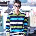 Vogue Anmi. весна осень мужские рубашки поло бизнес повседневная твердые рубашки поло бренд мужской поло с Длинным рукавом camisa рубашки поло
