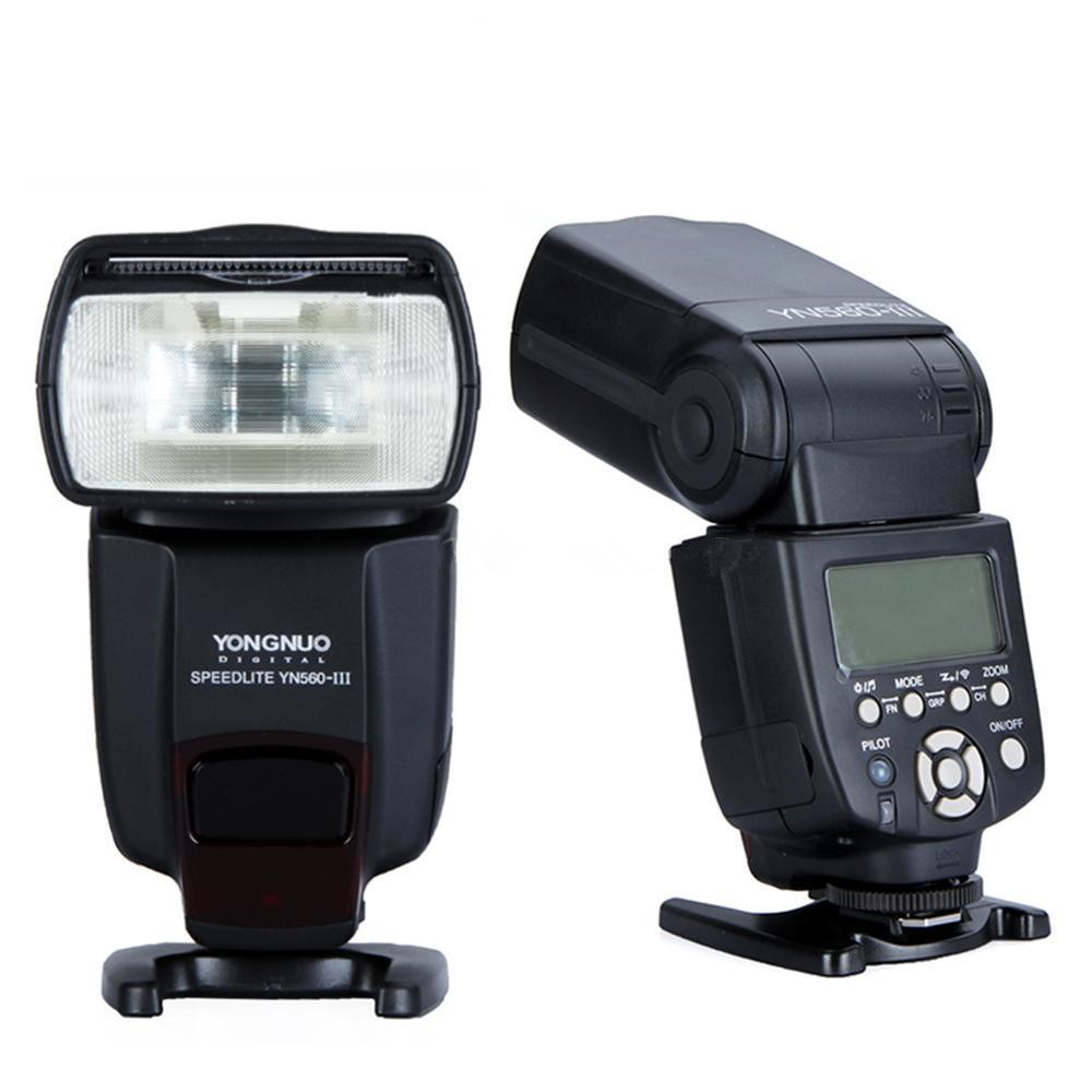 YONGNUO YN560 III Speedlite Wireless Flash YN560III Flashlight YN560-III For Canon Nikon Pentax Panasonic Olympus DSLR Camera 2 pcs yongnuo yn560 iii yn560iii flash speedlite flashlight for canon nikon