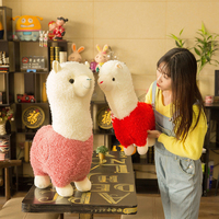 Toys For Children Alpaca Plush Toy Giant Plush Animals Kawaii Japanese Plush Toy Korean Alpaca Baby