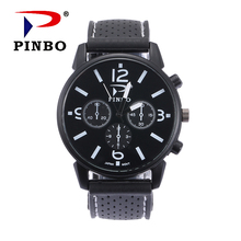 Brand Luxury Men's Watch Digital Genuine Leather Strap Sport Watches Male Casual Quartz Watch Men Wristwatch Famous Clock oulm leather fabric men s big watches famous luxury brand male quartz watch multiple time zone sports men large wristwatch