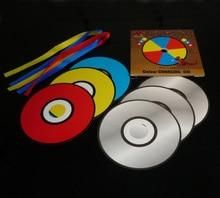 Color changing CD  — magic tricks, stage magic, mentalism
