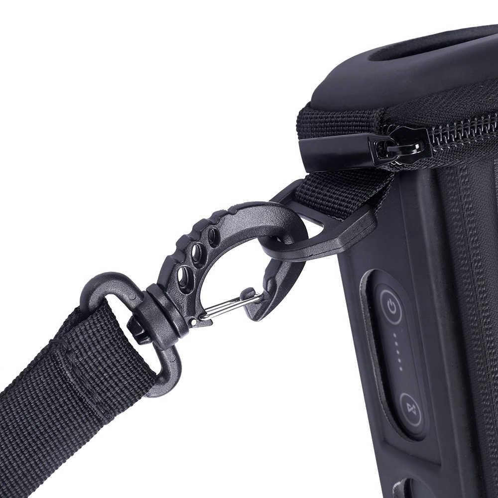 2018 nowy EVA + PU skóry Carry zamek rękaw przenośny ochronna twarda oprawa Box skrzynka dla JBL klapki 4 Flip4 głośnik bluetooth