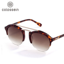 COLOSSEIN Fashion Sunglasses Women Men Cat Eye Style Glasses 2017 New Summer Sun glasses Women Brand UV Protection Eyewear
