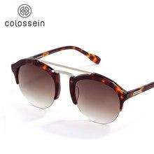 Colossein Мода Солнцезащитные очки для женщин Для мужчин кошачий глаз Стиль Очки Летняя Новинка 2017 г. Защита от солнца очки Для женщин бренд УФ-защита очки