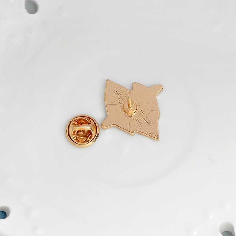 Spille e Spilli Iceberg Pulsante Distintivo Geometrica Natura Spilli Vestiti Del Fumetto Cappello Borsa Zaino Spille Gioielli regali per le Donne