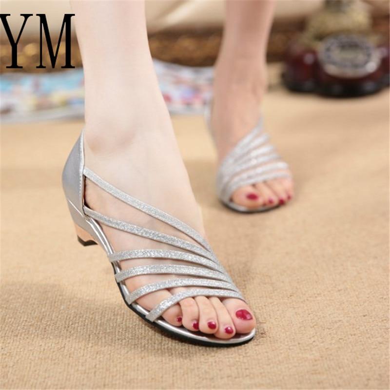 Plus Größe 35-43 Sommer Sandalen Frauen Flip-flops Weben Leder Casual Strand Flache Mit Schuhe Rom Tanga Stil Weibliche Sandale Schuhe