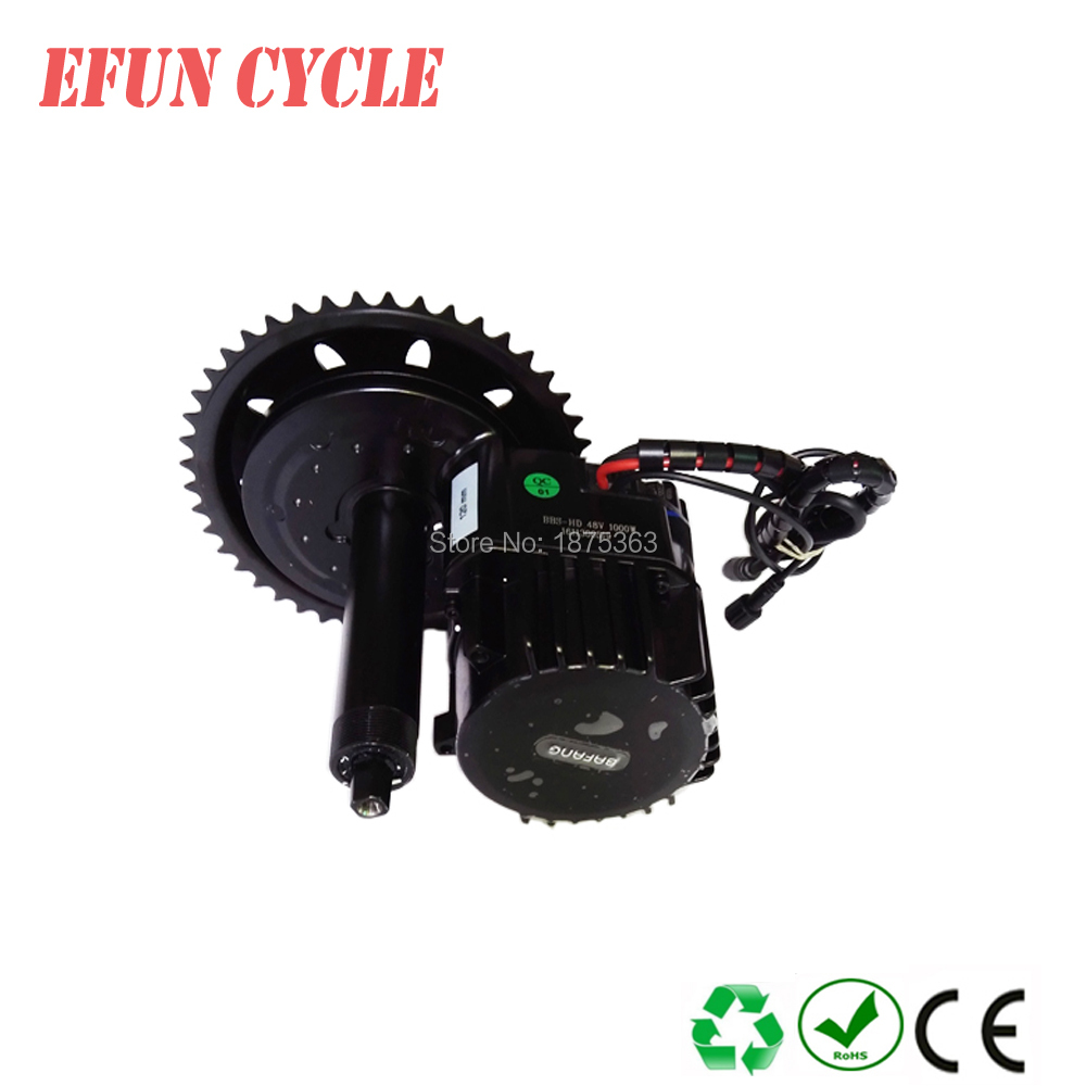Free shipping 42T BAFNAG BBSHD 48V 1000W Ebike Electric bike Motor BAFANG mid drive conversion kit with C965 display free shipping authentic bafang 36v 350w electric bicycle bbs01 mid crank drive motor kit ebike c965 color 850c lcd conhismotor