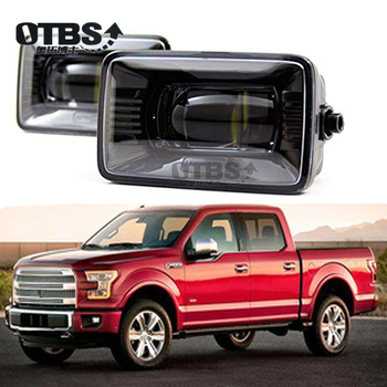 OTBS 1 Pair 4 inch Car LED Fog Light Square Driving Lamps for Ford F150 2015-2018