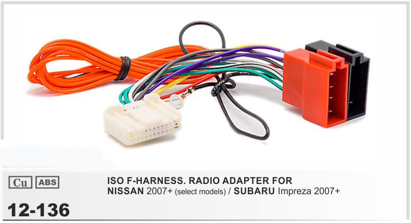 compare prices on wire car radio online shopping buy low price car radio stereo iso wiring harness adapter for nissan 2007 subaru impreza 2007 auto