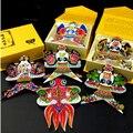 Envío gratis Chino tradicional kite 6 unids/lote alta calidad bolsillo de dibujos animados cometa kite Ornamental tipo de cometa
