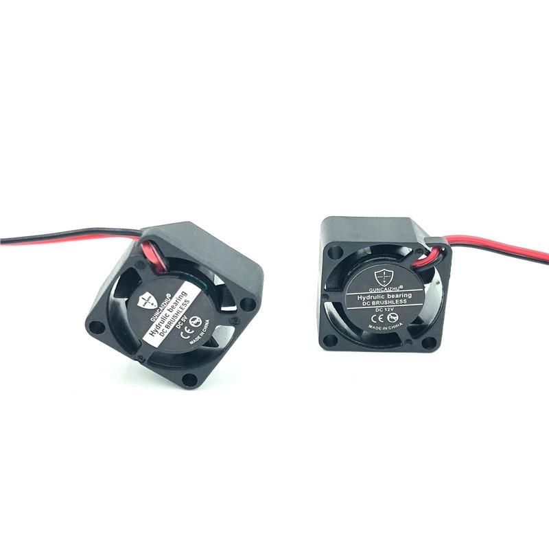 2010 20mm mini ventilateur refroidisseur d'ordinateur portable 12V 5V haute vitesse 19214 tr/min silencieux 2cm micro DC sans brosse ventilateur huile roulement 20x20x10MM