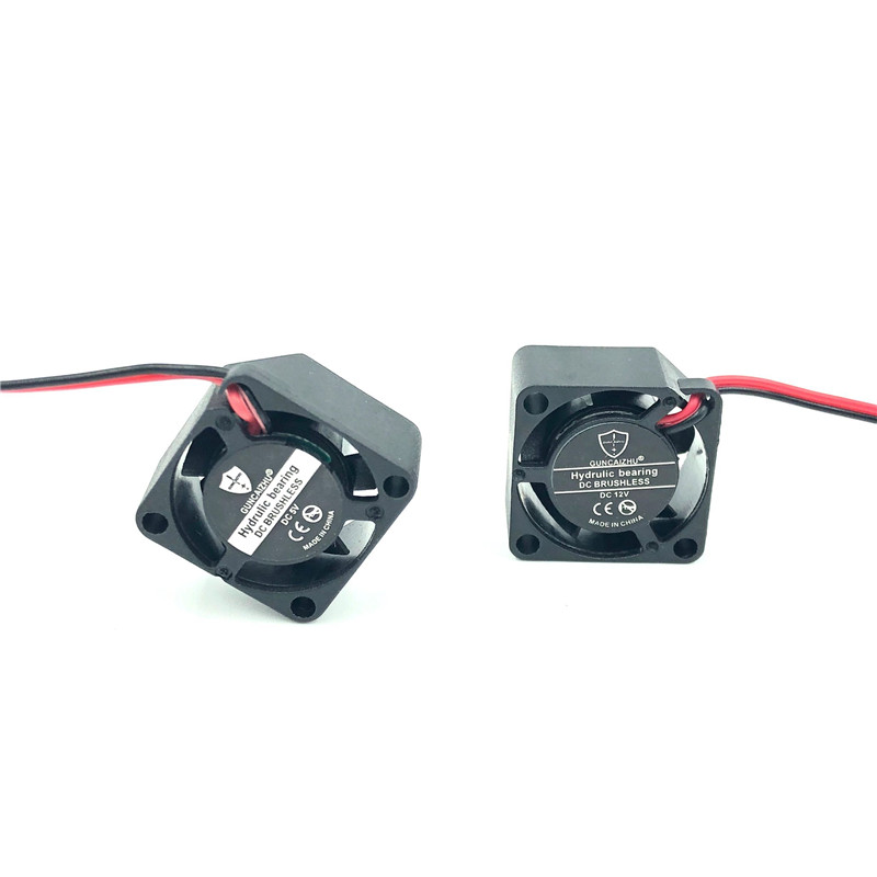 2010 <font><b>20mm</b></font> mini <font><b>fan</b></font> laptop cooler 12V <font><b>5V</b></font> High speed 19214RPM Silent 2cm micro DC brushless <font><b>fan</b></font> Oil Bearing 20x20x10MM image