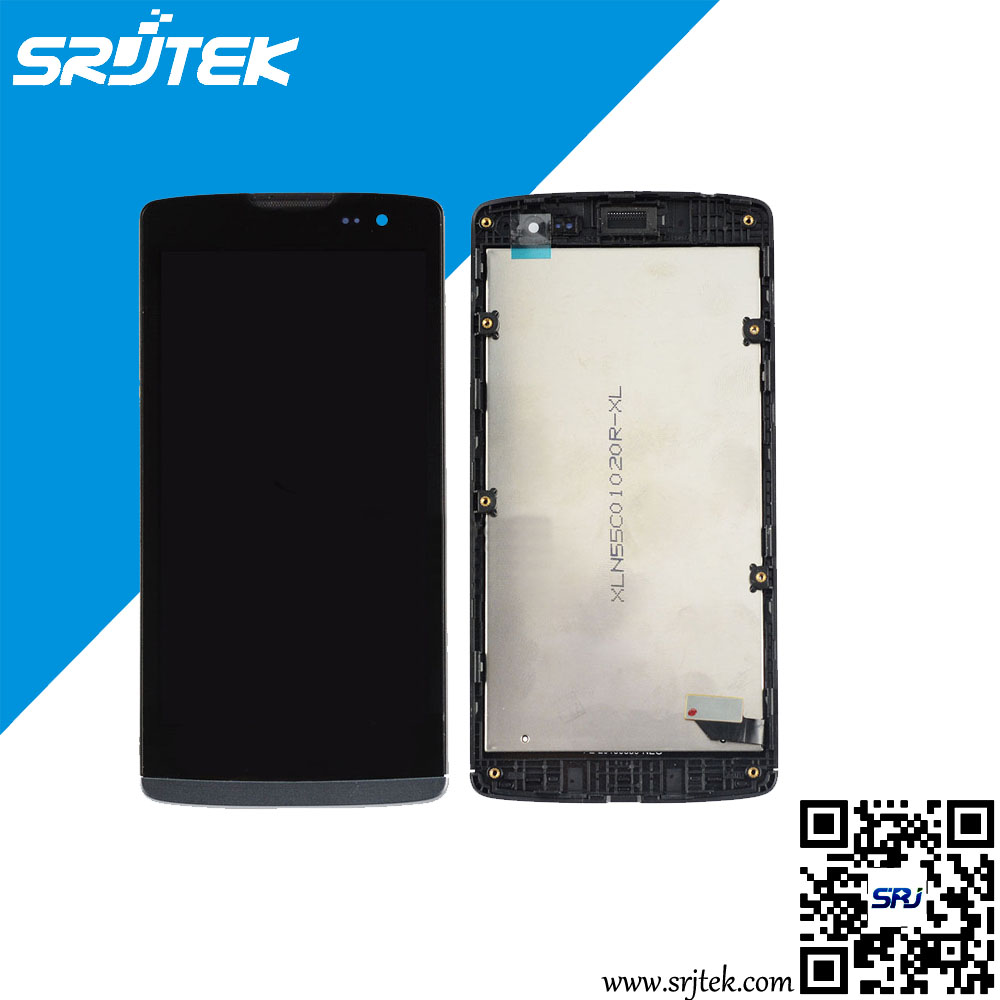 ФОТО For LG Leon H340 LCD DIsplay + Touch Screen Digitizer + Frame Cover Assembly  Free Shipping