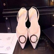 Koreanische Rosa Schuhe Prom Hallo Straße Weiche Leder Spitze Freizeit Keil Erwachsenen Zeremonie Normal Pu Lolita Metall Heel Stiletto