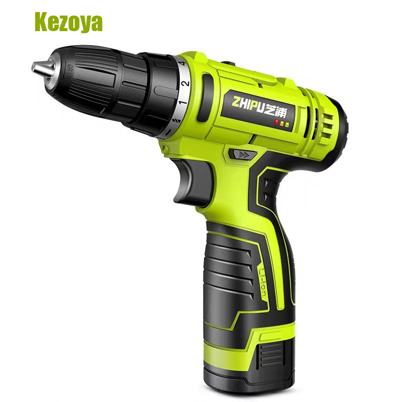 Lithium-Ion Battery Cordless Electric Drill 16.8V Electric Drill Double Speed Lithium Cordless