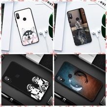 Animal Pattern TPU Protective Case For Xiaomi Redmi 6A Note 5 6 Pro Pocophone F1 Mi A1 A2 Mi8 SE Phone Housing Back Cover Coque