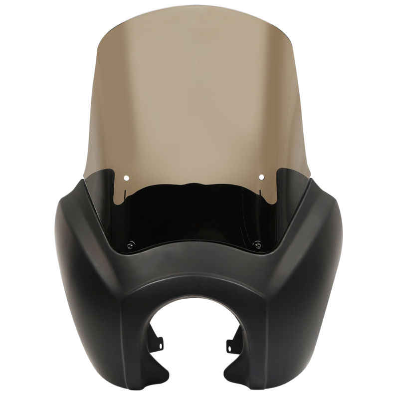 Передние фары для мотоцикла обтекатель с 15 ''лобовое стекло Крышка для Harley динамический анализатор для автомобиля с низкой посадкой супер Wide Glide Fat Street Bob T-Sport