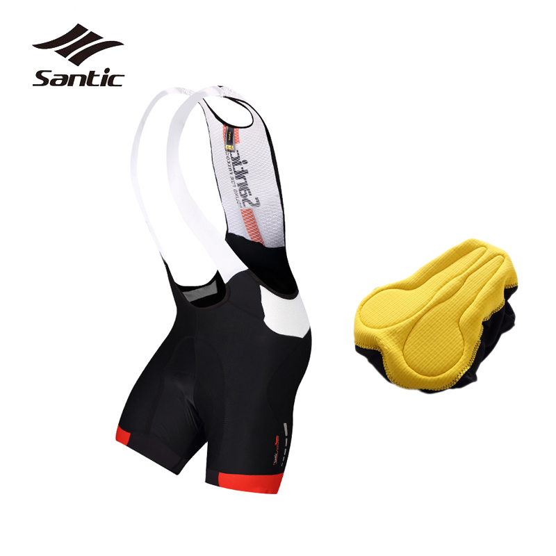 Santic Outdoor Fitness Downhill MTB Shorts With 4D Coolmax Pad Breathable Cycling Shorts Men Bicycle Clothing Bike Short Pants c 程序设计(附光盘1张)