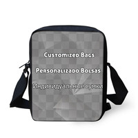 FORUDESIGNS Welcome Custom Messenger Bag For Women High Quality Girls Boys Crossbody Bags Small Portable Ladies