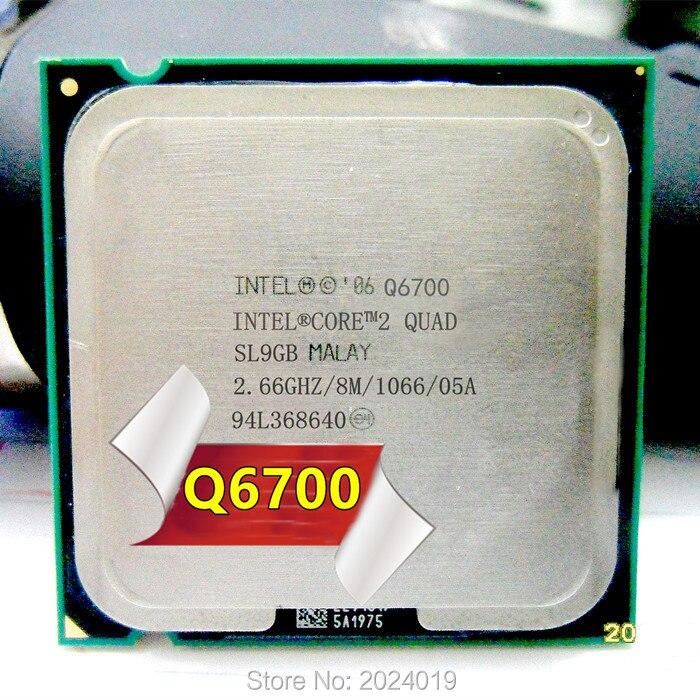 CPU Quad Processor 2.66GHz Intel Q6700 Core 2 8MB Core FSB 1066 Desktop LGA 775