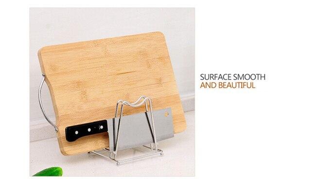 Стеллаж для хранения Творческий крышкой из нержавеющей стали плаху стеллаж для хранения незаменимым инструментом для kitchen12 * 13 см 328 г h-39