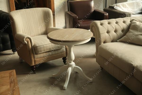 Wit Eiken Tafel : Continentale franse landelijke alle hout wit eiken tafel kleine