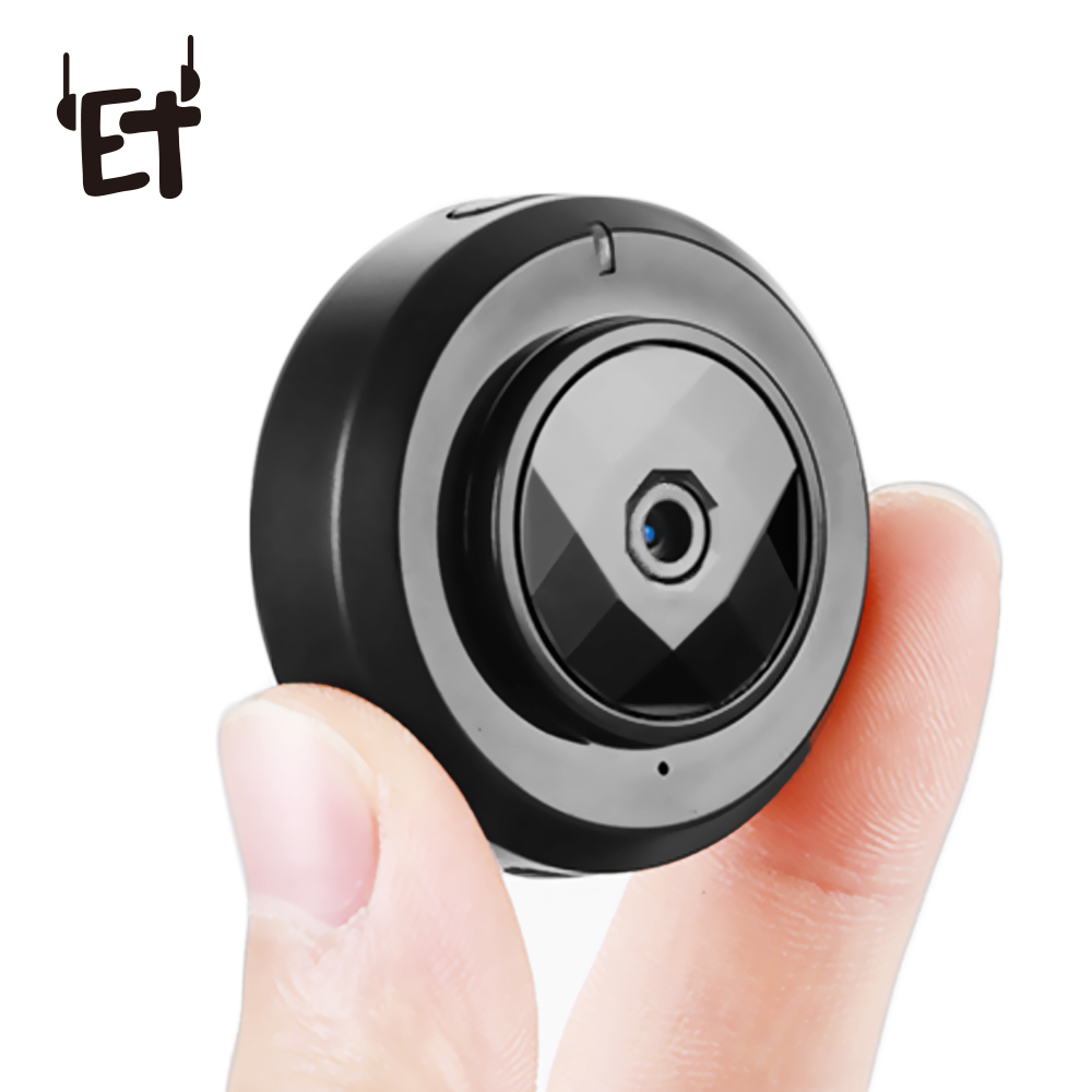 ET C6 Wifi Mini Camera Cookycam Micro HD 720P Motion Detection Camera Night Vision Home Security