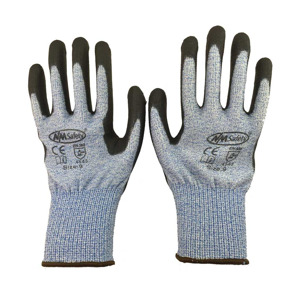 NMSafety EN388 4543 Super Soft Style Anti-Cut Work Protective Gloves