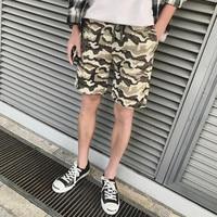 2018 Summer New Casual Pants Man Shorts Camouflage Print Men S Shorts Fashion Men S Large