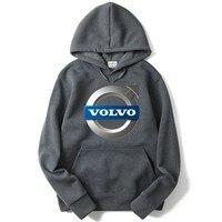 48e71d0fa ... do carro Marca moletom Com Capuz da camisola Ocasional. 2019 Women And  Men S High Quality Volvo Car Logo Pullover Hooded Sweatshirt Casual Brand