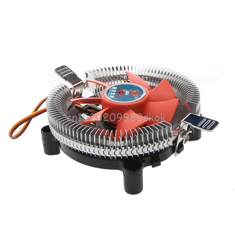 2200rpm CPU Quiet Fan Cooling Heatsink Cooler For LGA775/1155 and AM2/3 #H029# new pc cpu cooler cooling fan heatsink for intel lga775 1155 amd am2 am3 a97