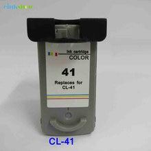 einkshop 1PK CL 41 cl41 cl-41 ink cartridge for canon Pixma MP160 MP140 MP150 MP180 MP190 MP210 MP220 MP450 MP470 IP1800 Printer чернила cactus cs cl41 желтый yellow 100мл для canon pixma mp150 mp160 mp170 mp180 mp210 mp220