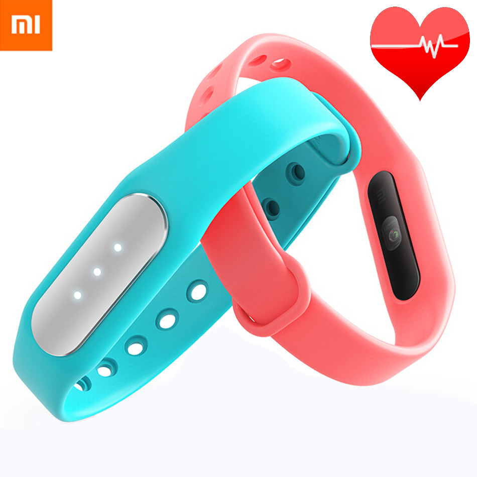 Original Xiaomi Mi Band 1S Pulse 1A Smart Band Miband for Android 4 4 IOS 7