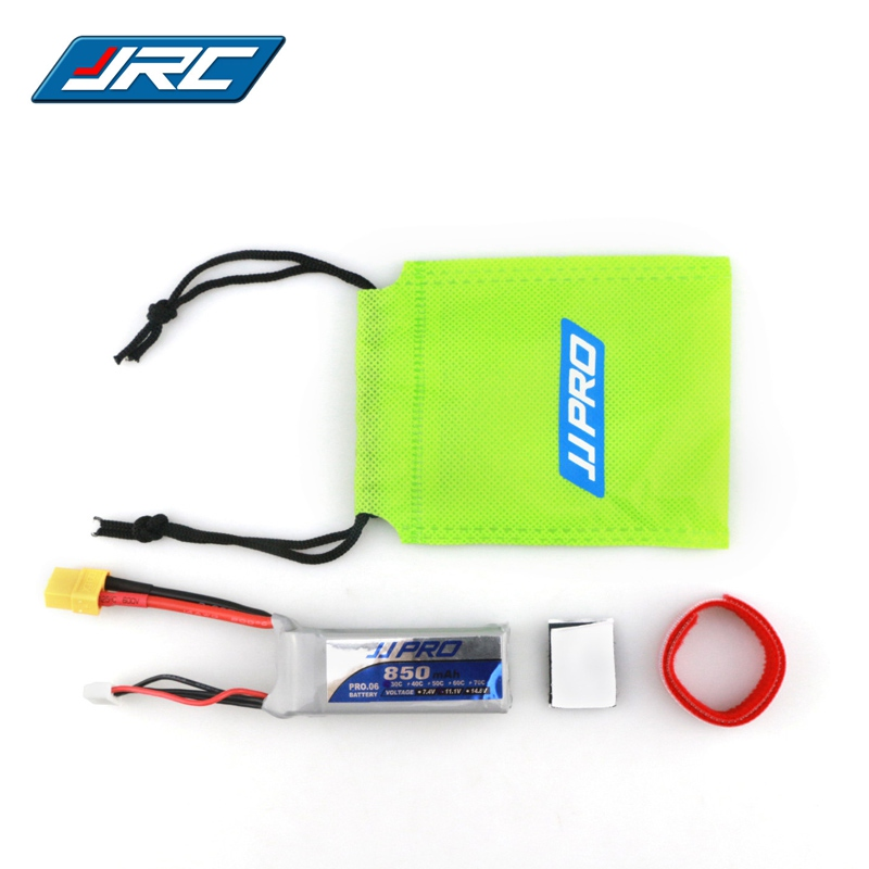 JJPRO-P06 Power 11.1V <font><b>850mah</b></font> 30C <font><b>3S</b></font> Lipo Battery XT60 Plug Connector For FPV RC Racer Racing Drone Quadcopter Spare Parts Accs image