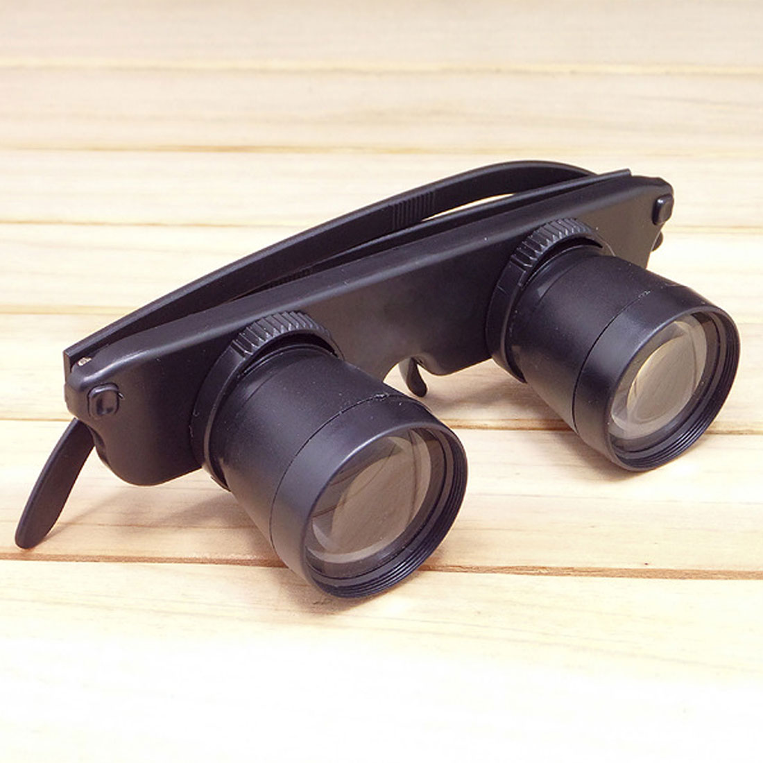 28mm Magnifying Glass 3X Magnifier For Outdoor Fishing Optics Binoculars Telescope Glasses Style Black