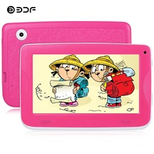 BDF 2018 New 7 Inch Children Kids Learning Education Games PAD Tablets Pc Android 4.4 Quad Core Kids Birthday Gift KIDS Tablet