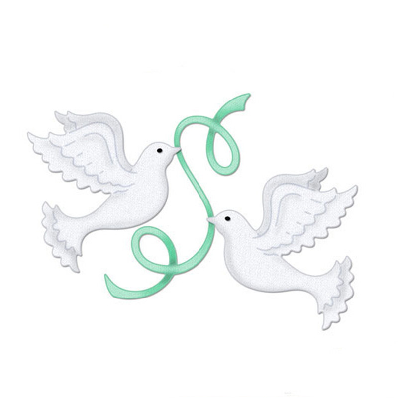 Peace Dove IHS Cup Cross New Design Craft Metal Cutting Dies cut die scrapbooki