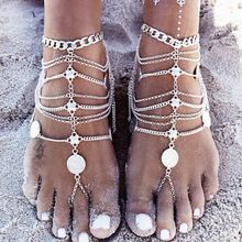 US $0.83 49% OFF BYSPT Barefoot Sandals Beach Foot Jewelry Anklet Bracelet Cheville Enkelbandje Boho Anklet bohemian Anklets for women -in Anklets from Jewelry & Accessories on Aliexpress.com   Alibaba Group