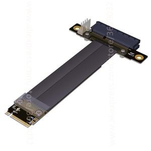Image 4 - Riser PCIe x4 3.0 PCI E 4x ถึง M.2 NGFF NVMe M 2280 Riser Card Gen3.0 สาย M2 Key   M PCI   Express สายต่อ 32 กรัม/bps