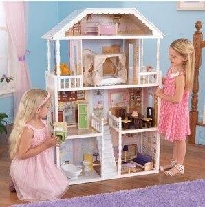 free shipping kidkraft savannah dollhouse in furniture toys from