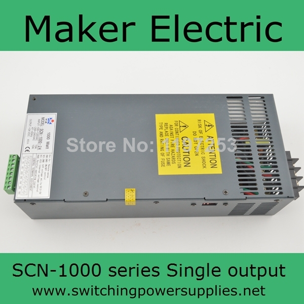 fast delivery switching power supply 15v 1000w SCN 1000 15