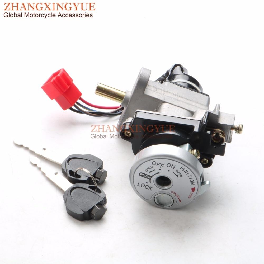Electric Lock For YAMAHA BWS125 ZUMA 125 YW125 WH203