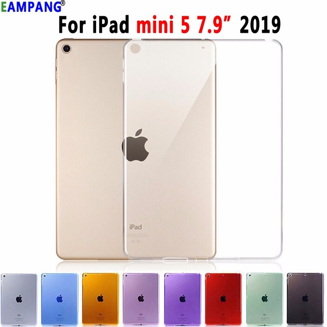 "Cao cấp Mỏng Mềm TPU Silicone Trong Suốt cho Apple iPad mini 5 mini5 2019 7.9 ""7.9 Silicon Coque capa Funda"