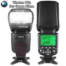 TRIOPO TR-586EX Wireless Flash Mode TTL Speedlite Speedlight For Nikon D750 D800 D600 D700